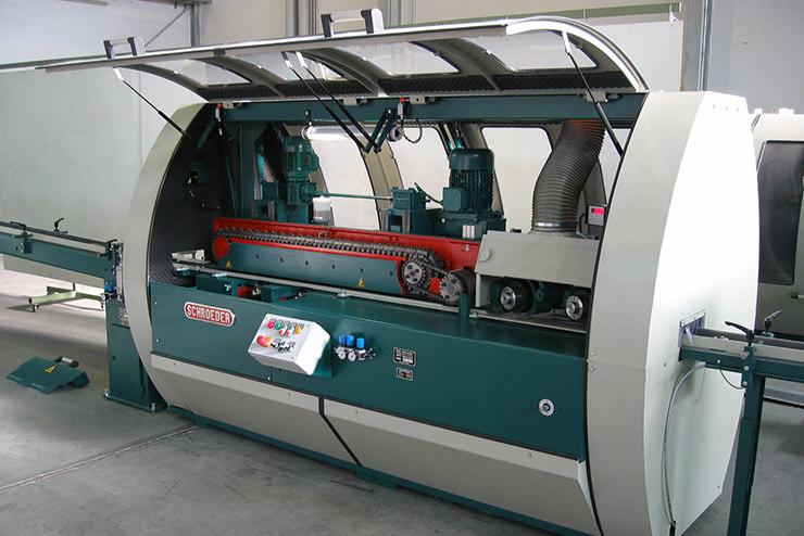Mosaikparkett Hobelmaschine LH-4 Detailansicht 1