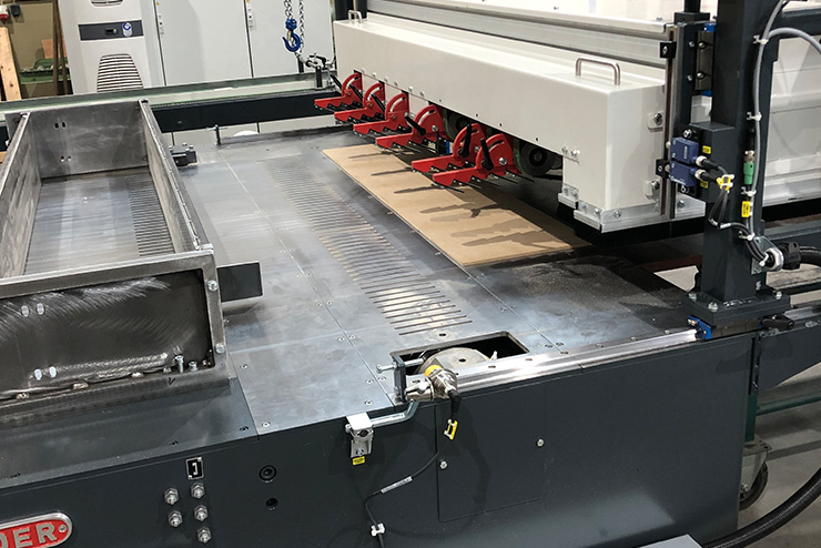 Multiblade Grooving-Saw VNS Detail 1