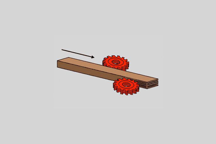 Abbildung Deckschichtleisten