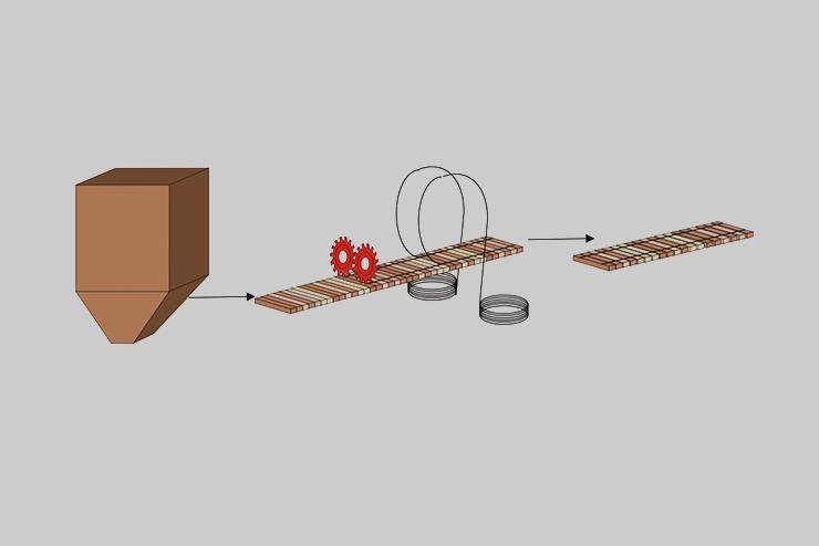Abbildung 1 Tragschicht Herstellung