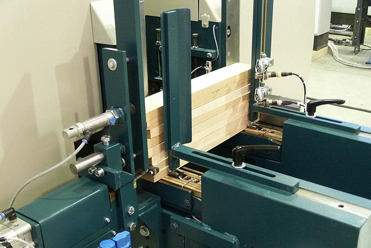 Nut- und Federmaschine PAKUE F Detailansicht 3